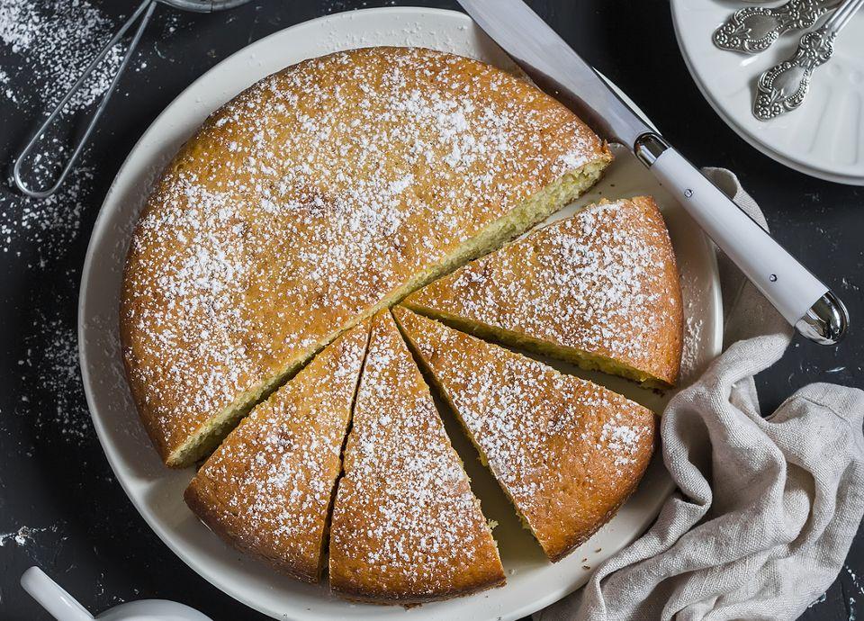 Orange Olive Oil Skillet Cake