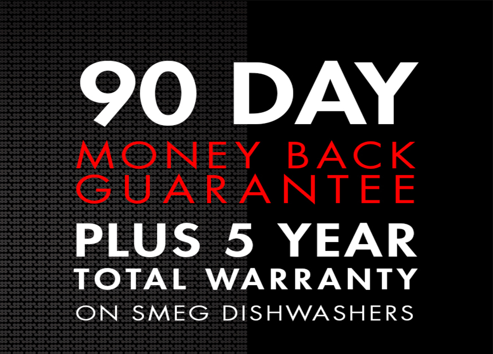 Total 5 year warranty + 90 day money back guarantee
