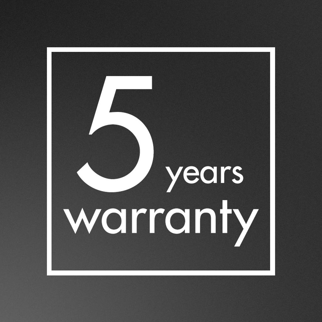 5 ans de garantie lave-vaisselle