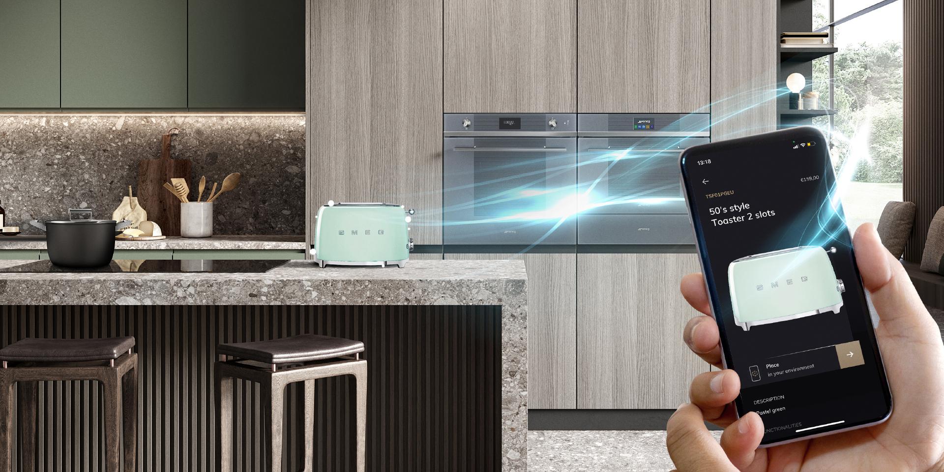 Ontdek nu je favoriete Smeg toestellen in augmented reality