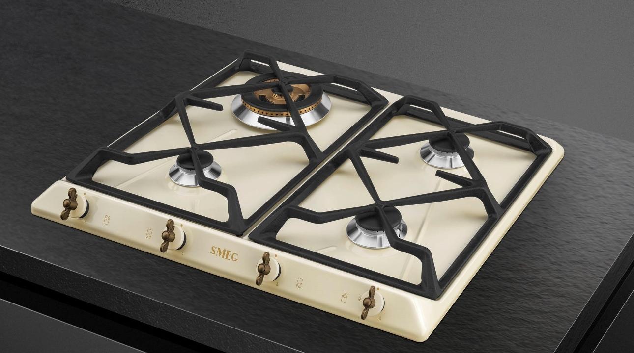 Table de cuisson induction Coloniale Smeg