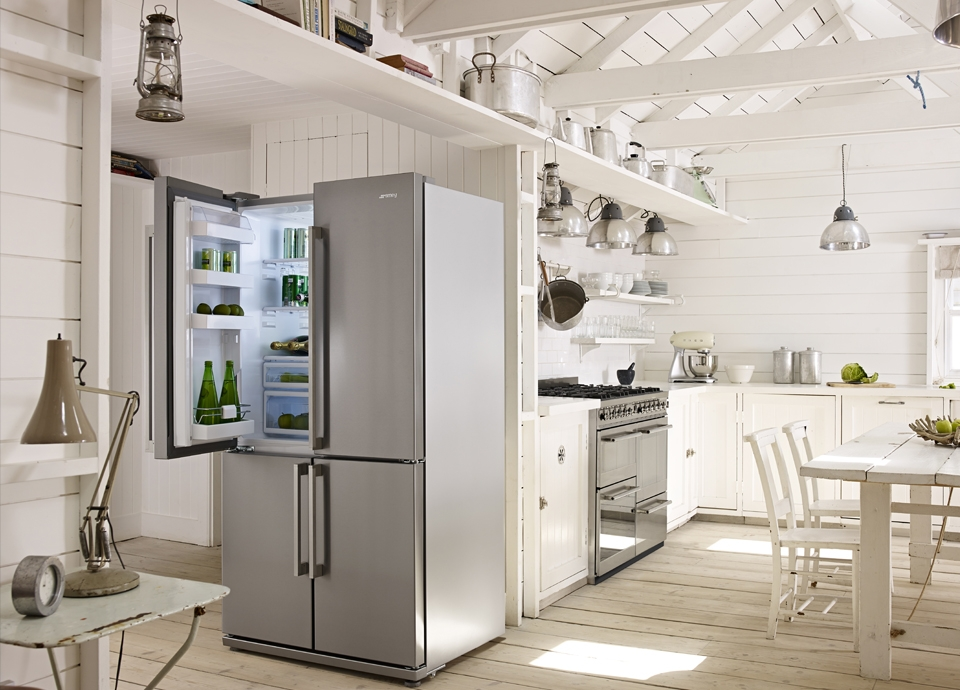 Réfrigérateurs Side-by-side Smeg