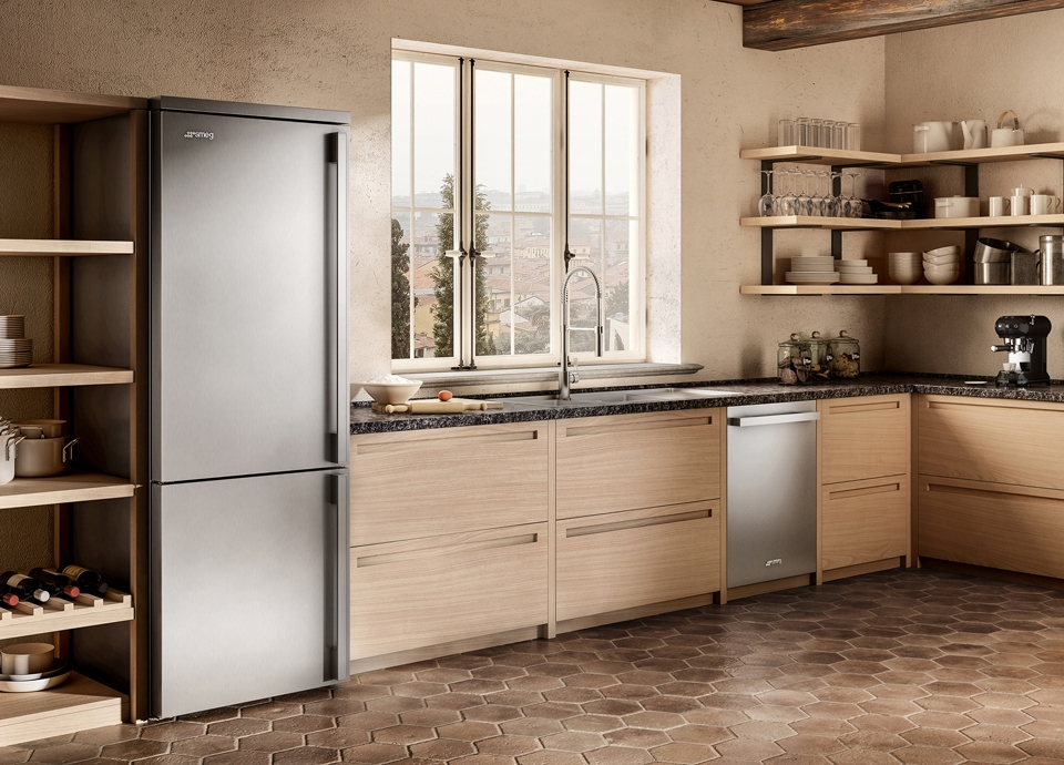 Réfrigérateurs combinés Smeg