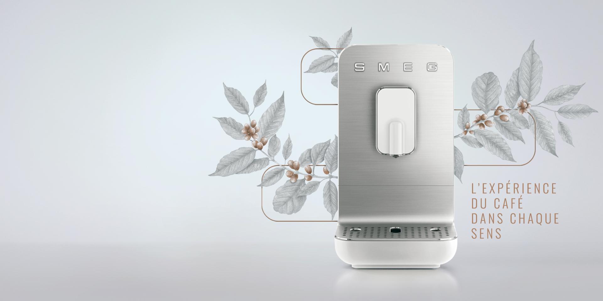 Machines à café avec broyeur intégré Smeg