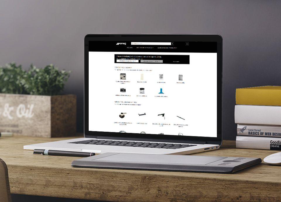 Boutique en ligne de pièces détachées Smeg