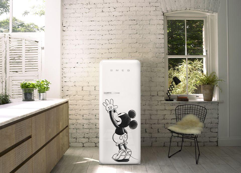 Les réfrigérateurs SMEG : des collaborations et des éditions spéciales   SMEG France