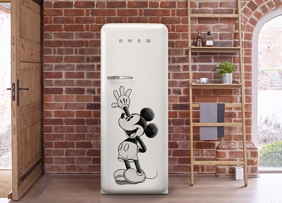 Réfrigérateur SMEG FAB28 Mickey Mouse en collaboration avec Disney