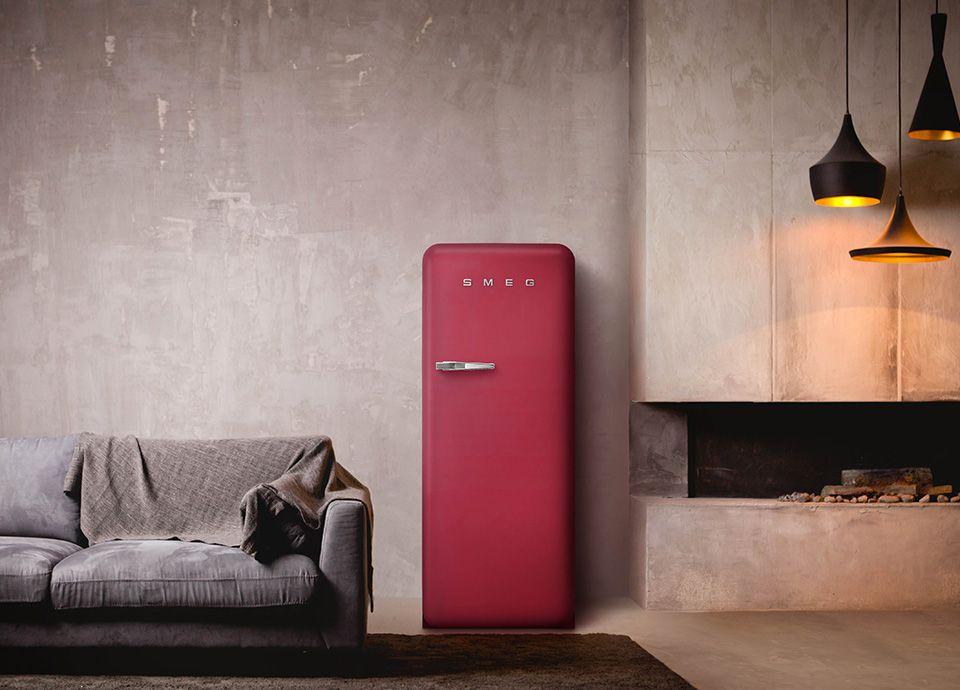 Réfrigérateur SMEG FAB28 édition spéciale couleur rubis