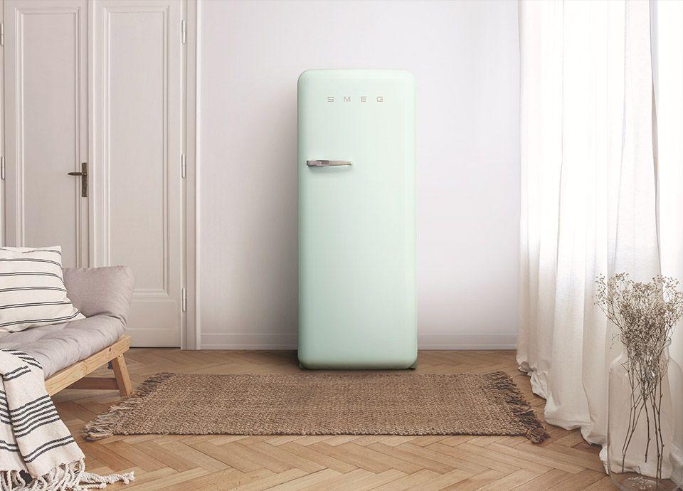 Réfrigérateur SMEG FAB28 classique couleur vert d'eau