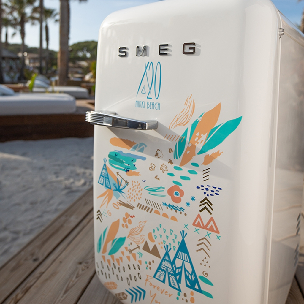 nikki beach smeg collaboration