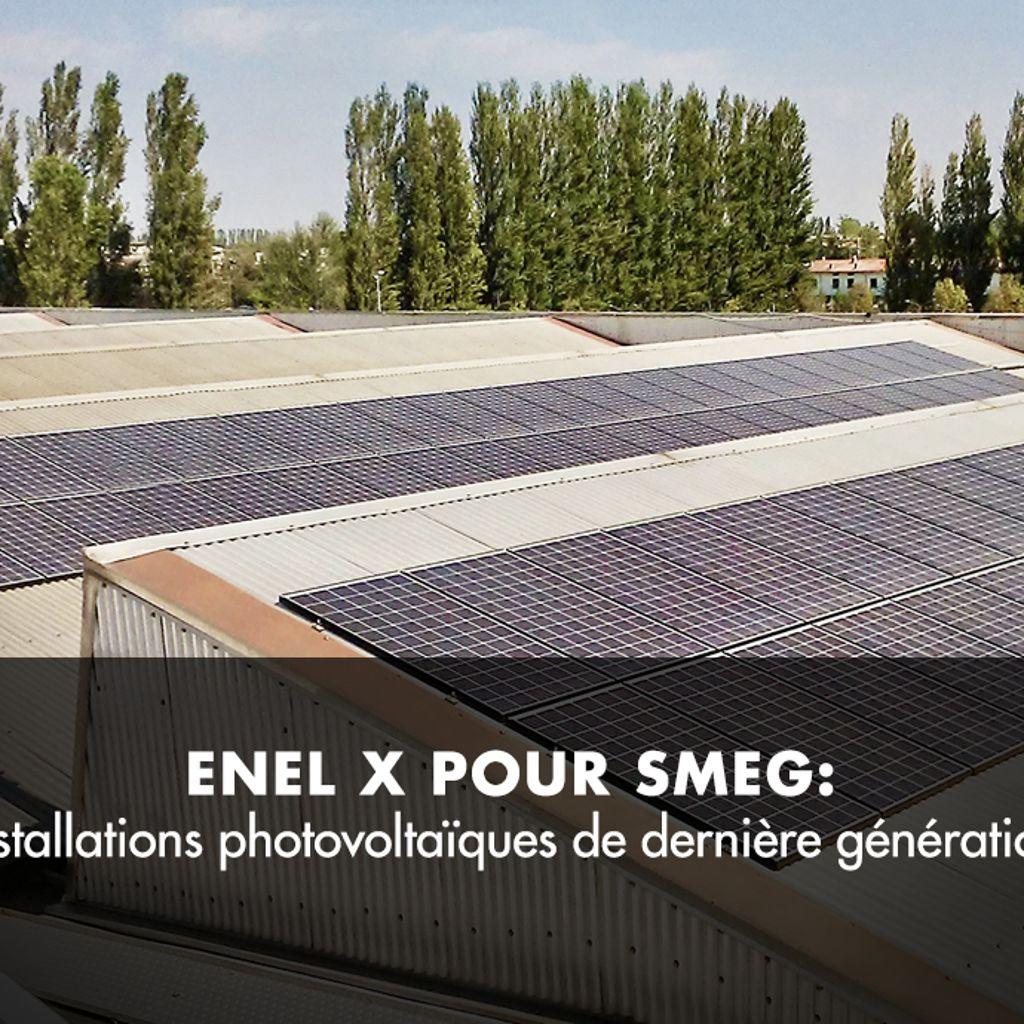 Installations photovoltaïques de dernière génération pour Smeg