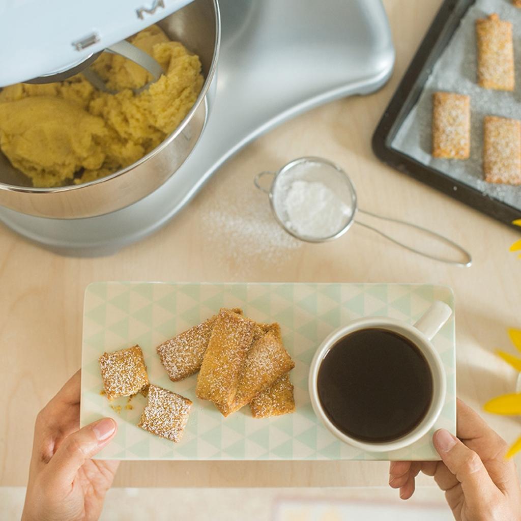 Smeg Pâte sablée de Clémentines