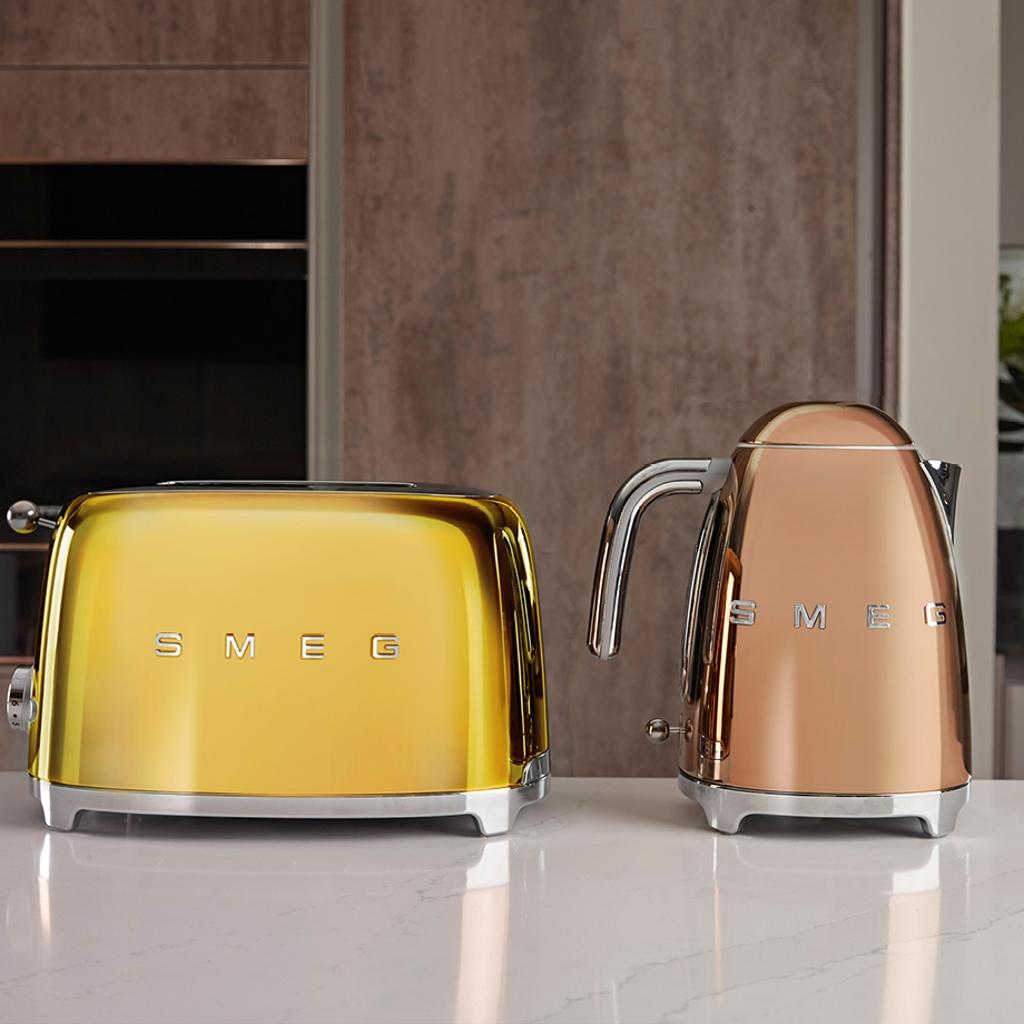 Pequeños electrodomésticos en colores únicos