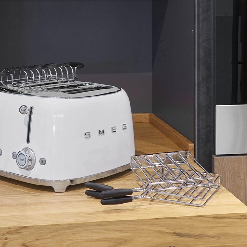 Les accessoires optionnels des toasters Smeg