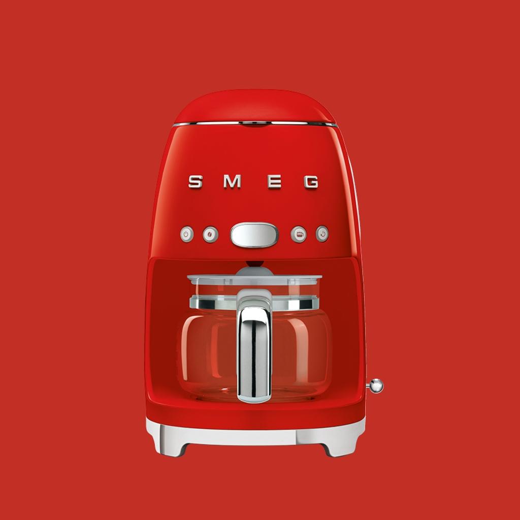 Máquinas de café por goteo-filtro - Roja