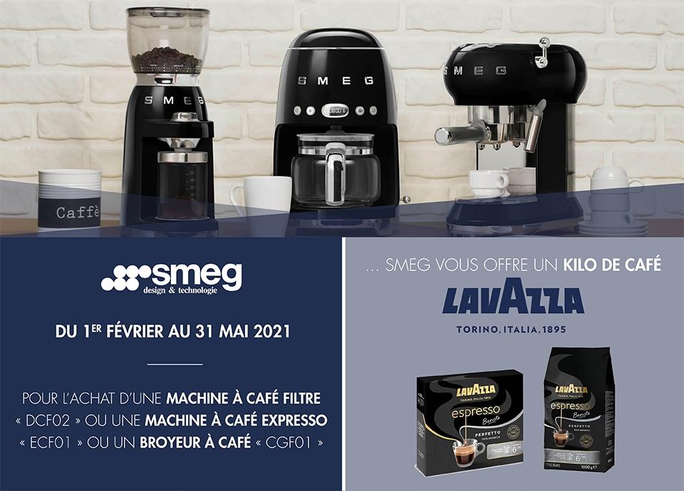 PROMOTION - Un paquet de café Lavazza offert.