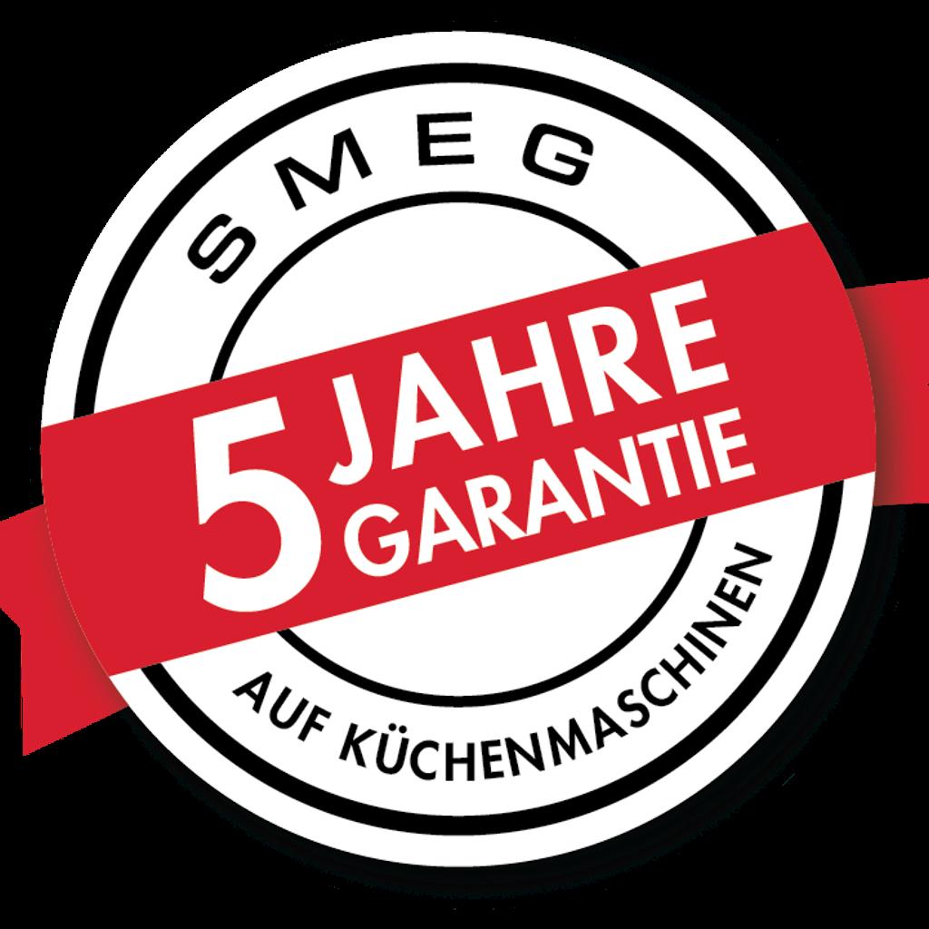 5 Jahre Garantie auf  Küchenmaschinen von Smeg