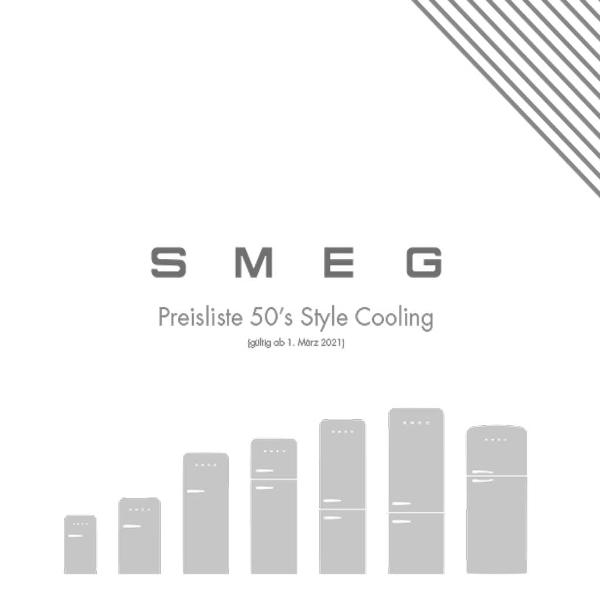 50s Stlye Cooling Preisliste
