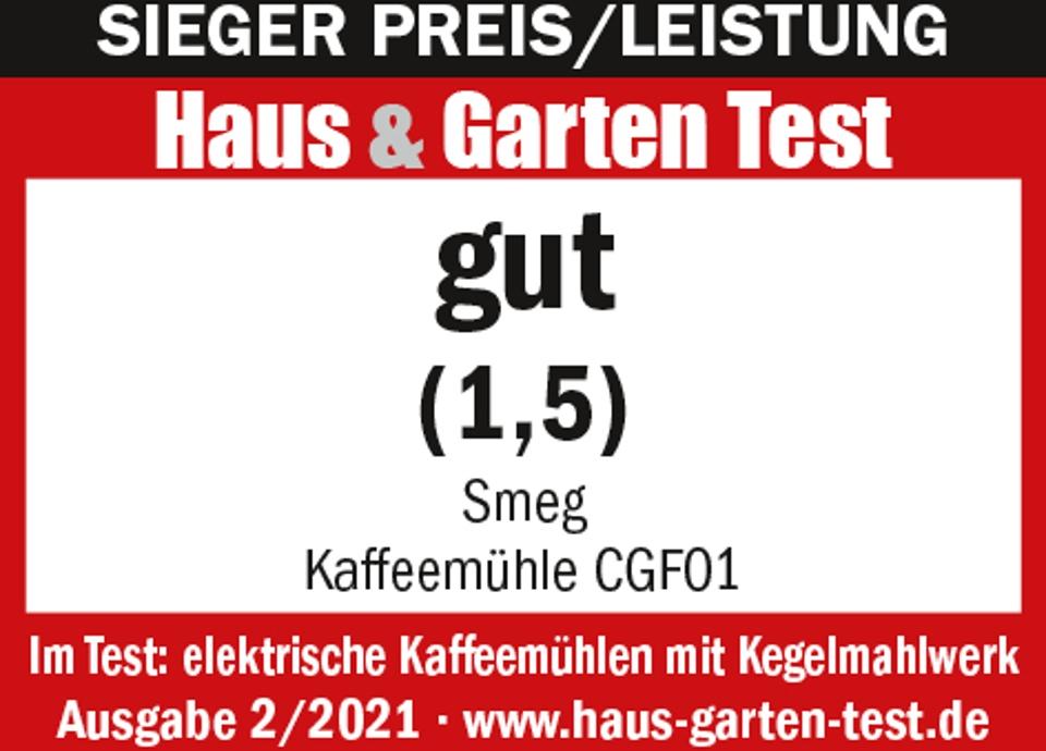 Sieger Preis/Leistung im Haus & Garten Test 02/2021