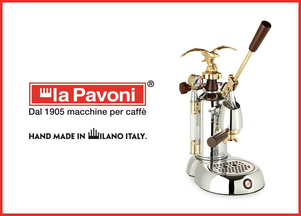 La Pavoni ist Teil der Smeg Gruppe