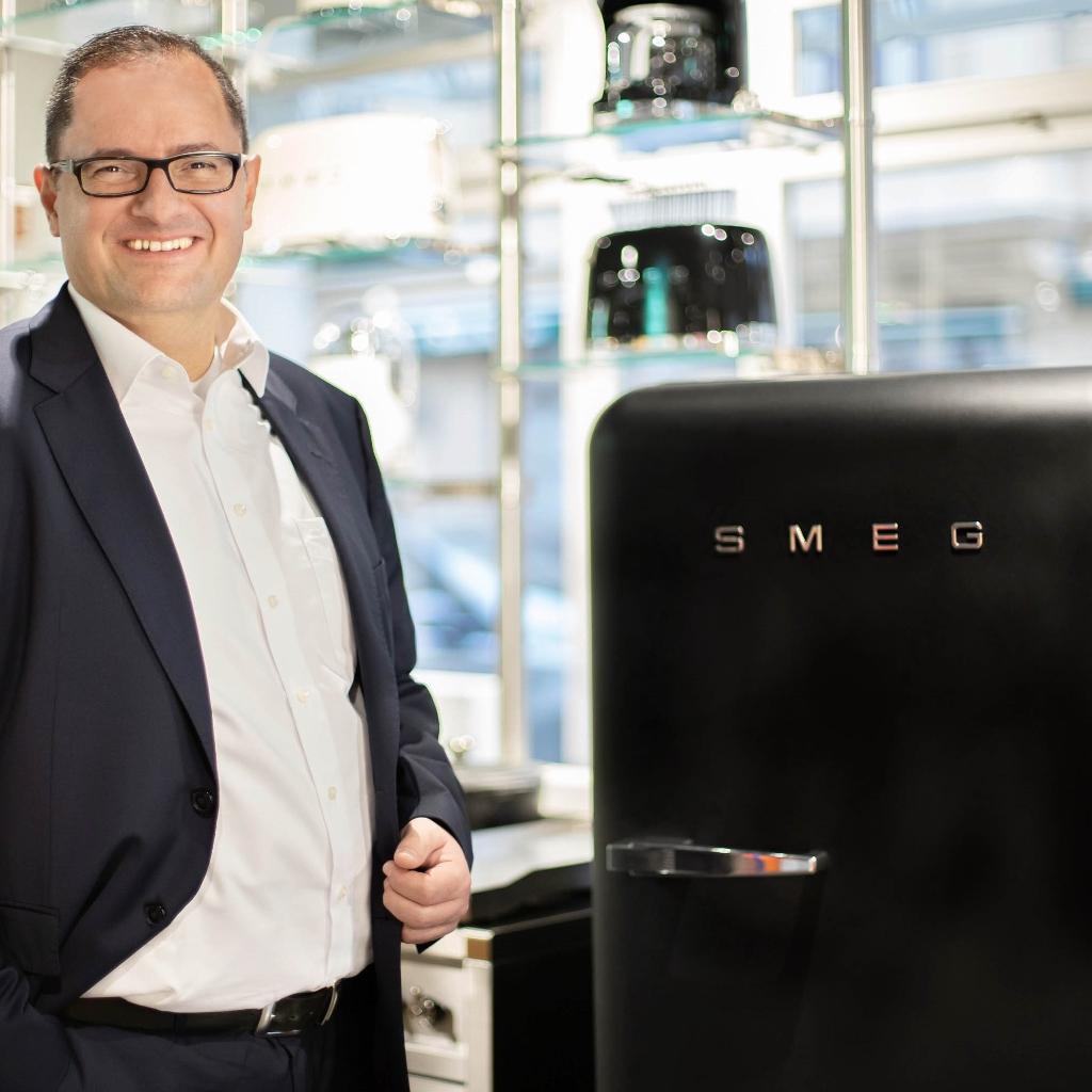 Robert Tsanakaliotis wird Vertriebsleiter bei Smeg
