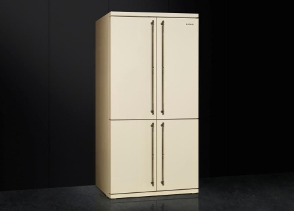 Freistehende Kühlschränke von Smeg