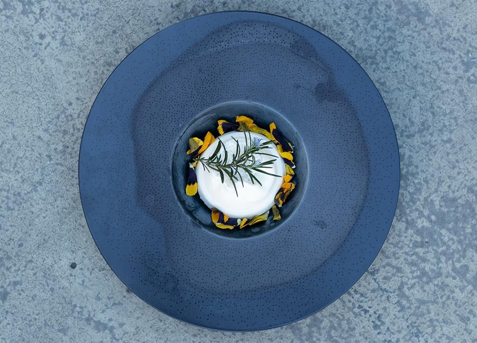 Ricetta gelato fiordilatte al rosmarino