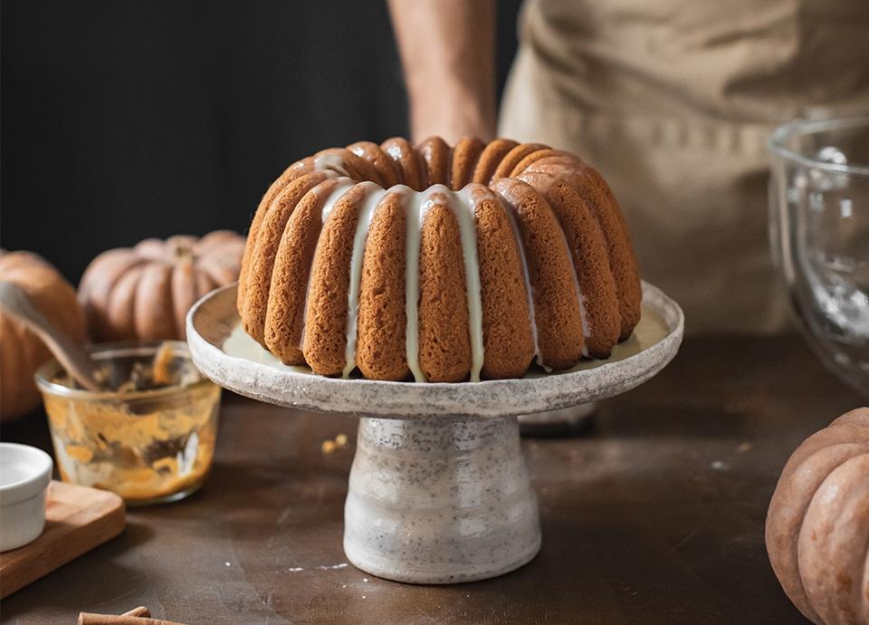 Ricetta Bundt Cake con zucca