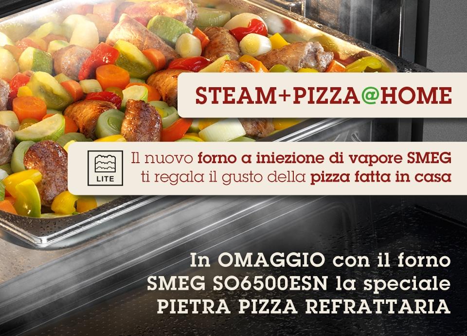 Operazione a premio STEAM+PIZZA@HOME