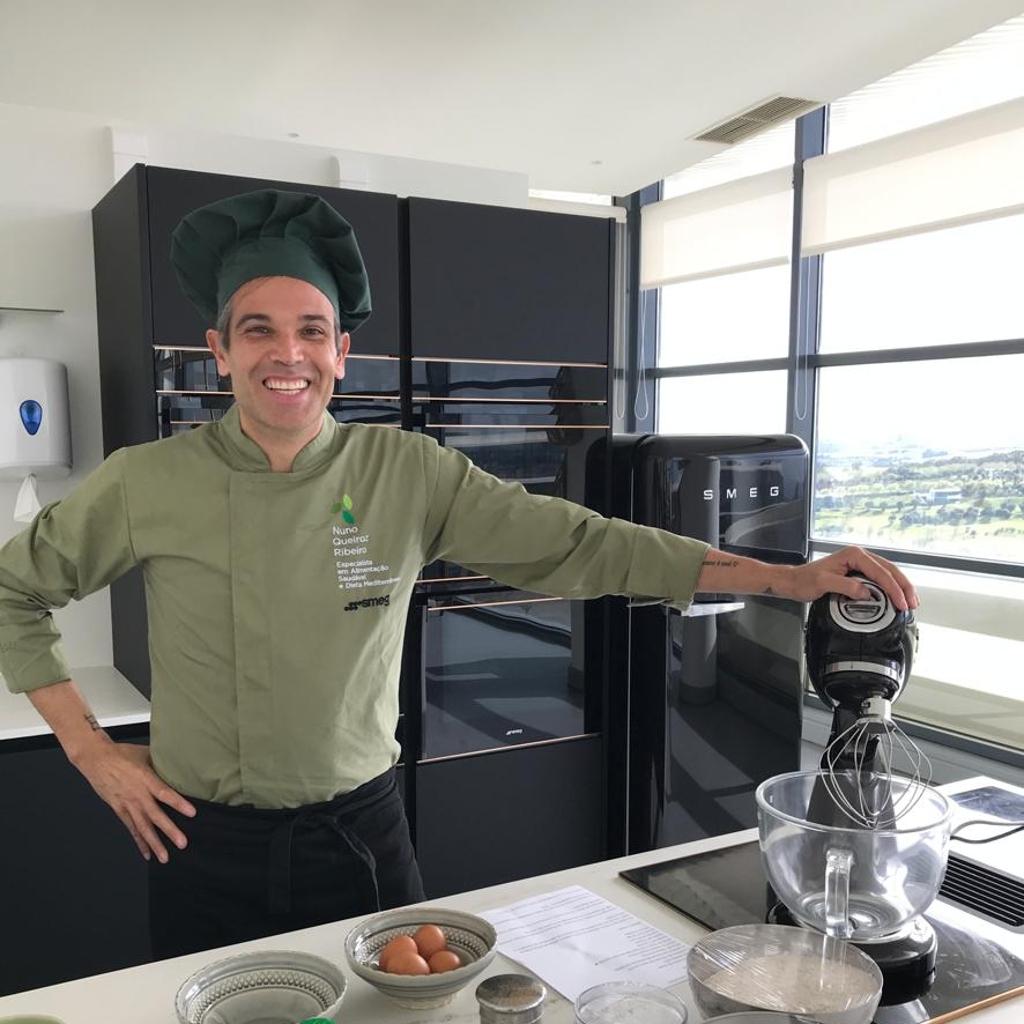 Folar de Páscoa Saudável com Chef Nuno Queiroz Ribeiro