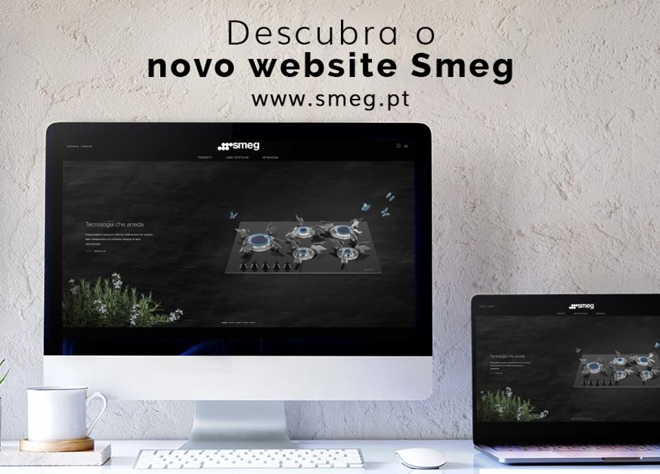 A Smeg Portugal apresenta o seu novo website