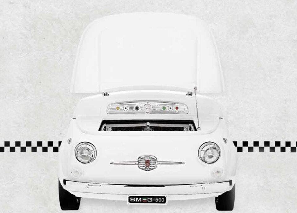 FIAT 500 E SMEG
