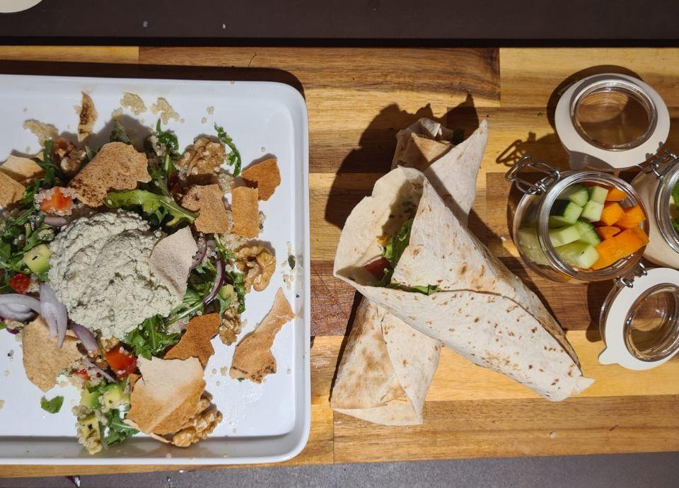 Salada fria de Quinoa