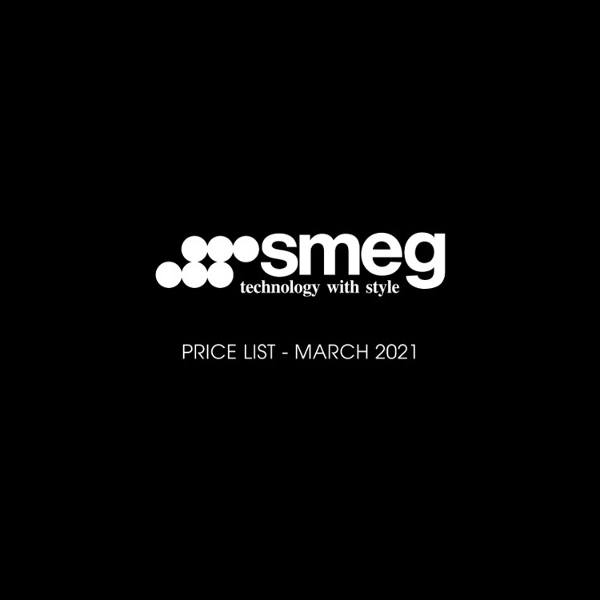 Smeg March Pricelist 2021