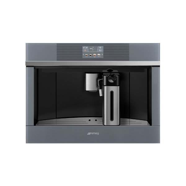 Smeg Linea aesthetic line built-in coffee machines