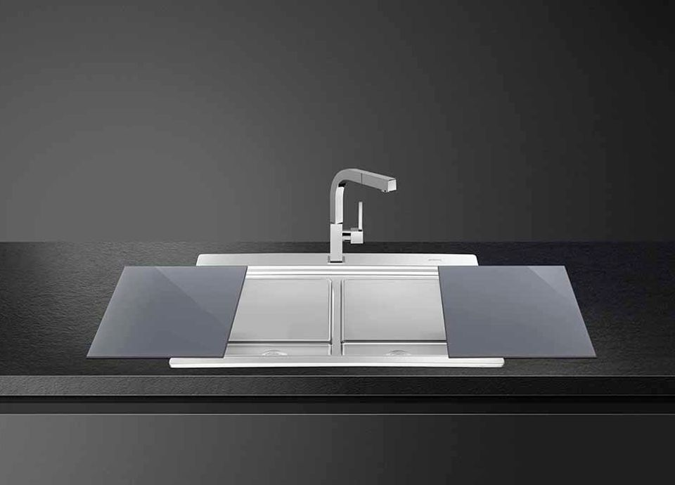 Stainless Steel - Sink material