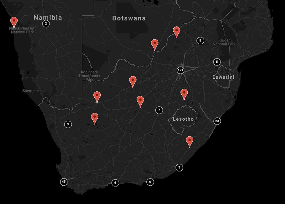 Store locator - Smeg South Africa