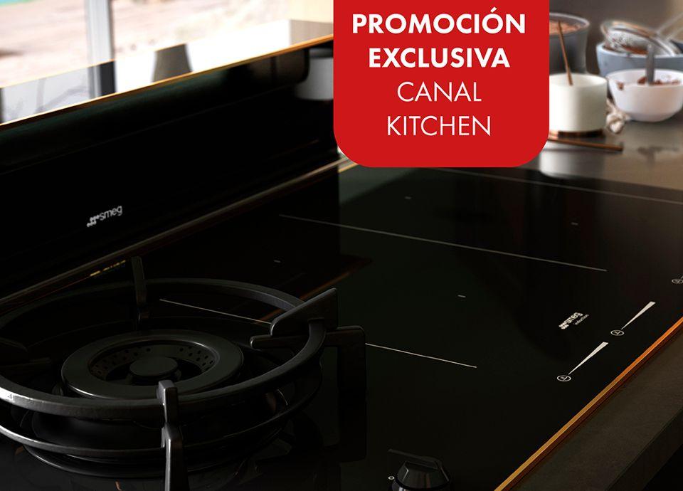 Promoción Encimera Kitchen Smeg