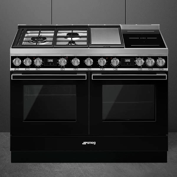 Smeg cookers with mixed hob