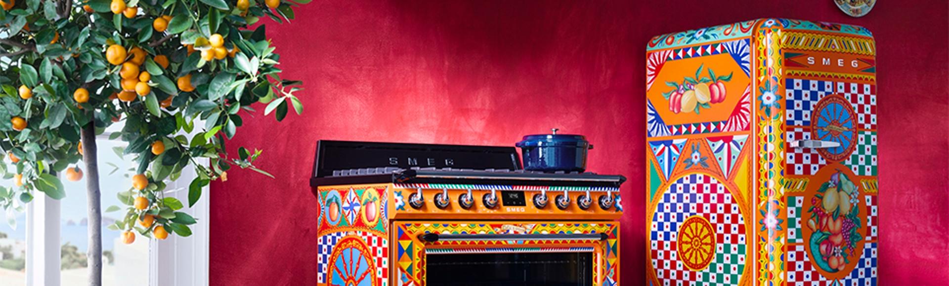 Divina Cucina - Smeg and Dolce&Gabbana