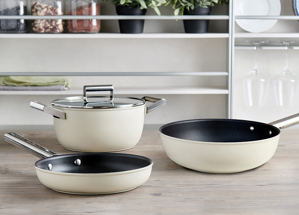 Cookware designed and Made in Italy