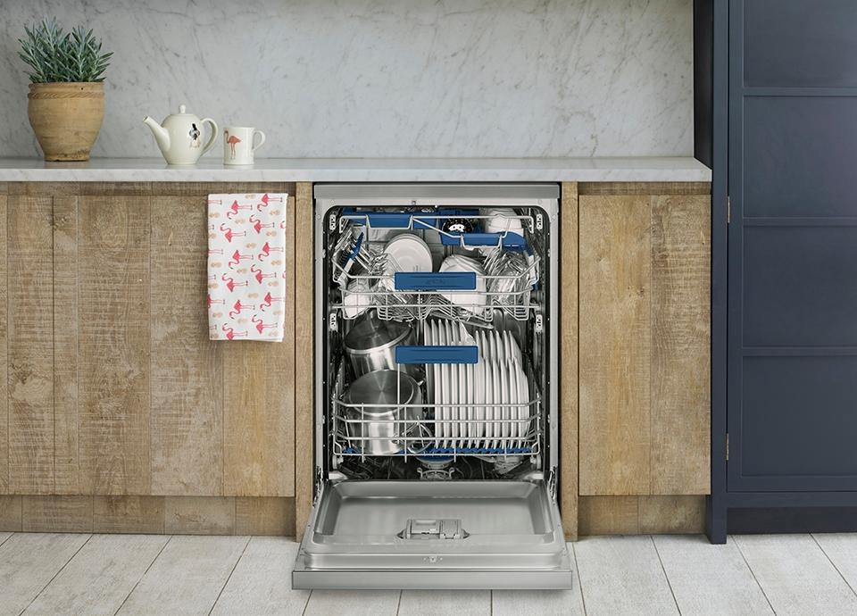 Full-size dishwashers