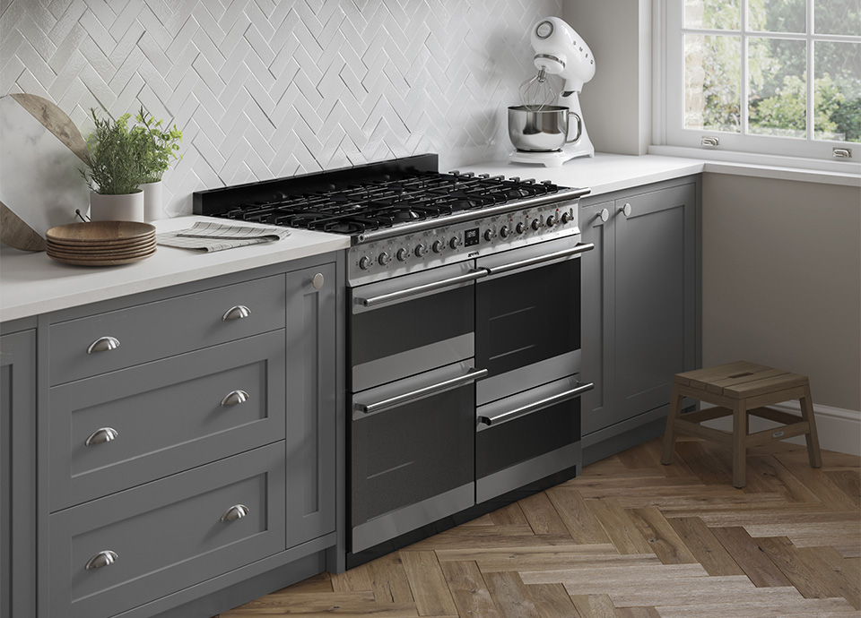 Discover new Symphony range cookers