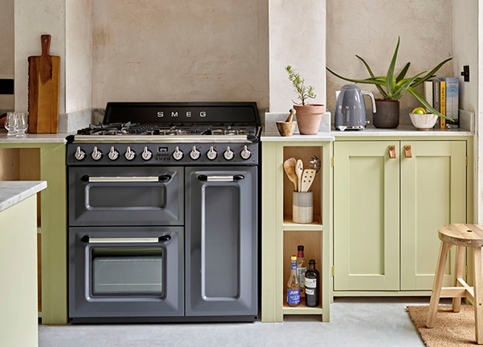 Slate Grey Victoria Range Cookers
