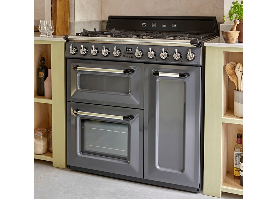 NEW 90CM AND 100CM SLATE GREY COOKERS