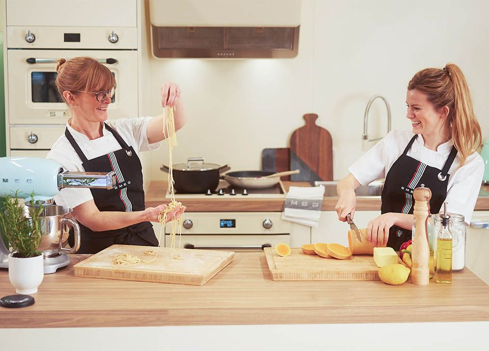Smeg live, in-store virtual events