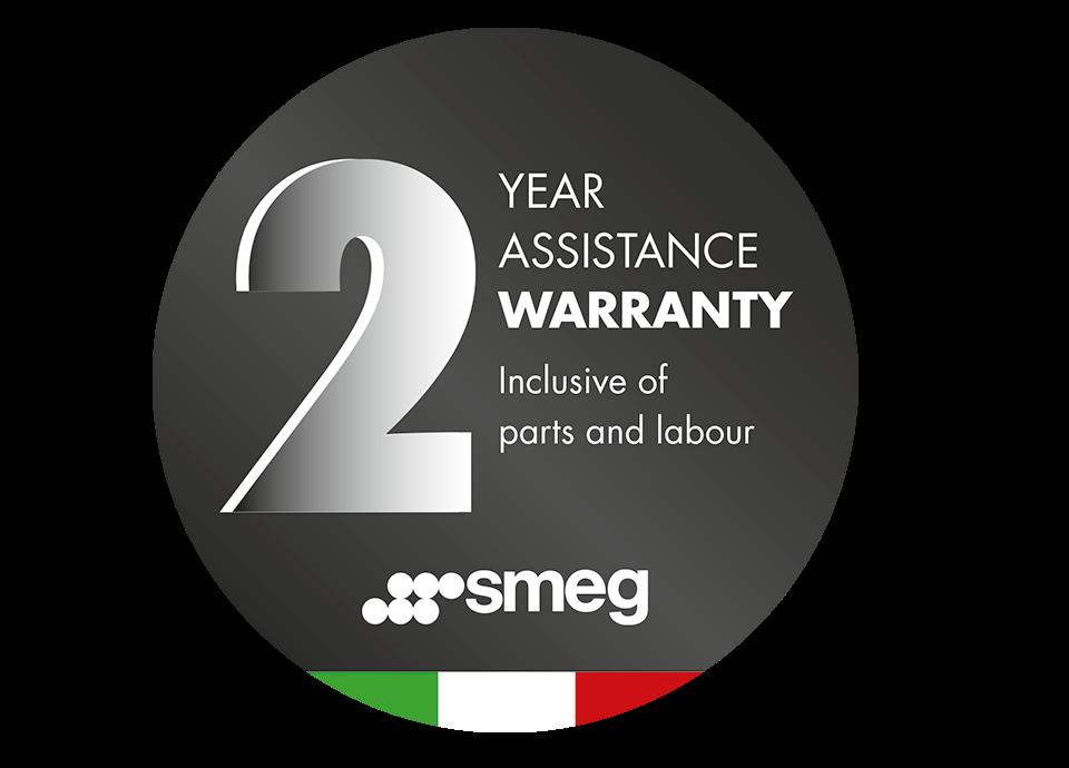 Standard 2 year warranty