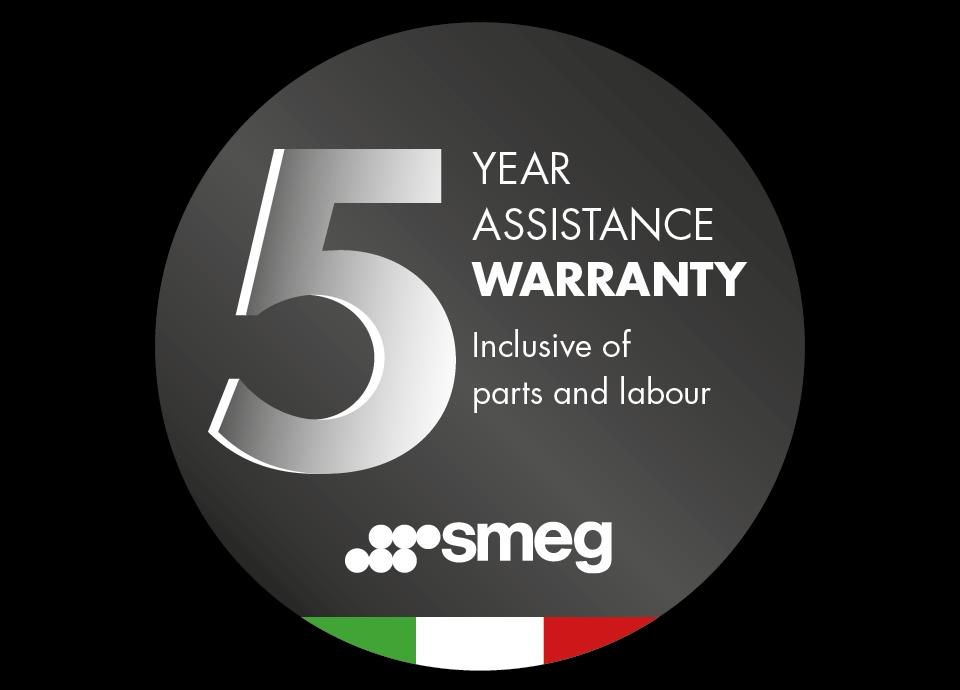 Smeg 5 Year Promotional Manufacturers Warranty