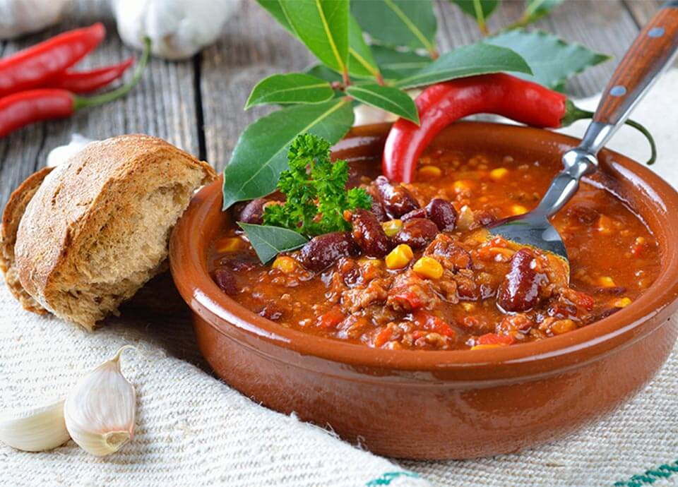 Chilli Con Carne with Cocoa Powder