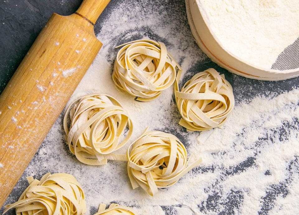 Tagliatelle with Pumpkin and Sage Brown Butter